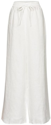 Zimmermann Brighton wide-leg linen pants