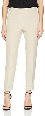 Adrianna Papell Women's Cuff Bottom bi Stretch Pant
