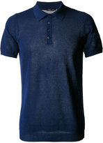 Roberto Collina net polo shirt - men - Cotton - 48