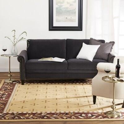 Fleur De Lis Living Millwright Oriental Handmade Tufted Wool Beige Green Black Area Rug Rug Size Rectangle 3 6 X 5 6 Shopstyle
