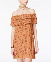 American Rag Juniors' Floral-Print Shift Dress, Created for Macy's