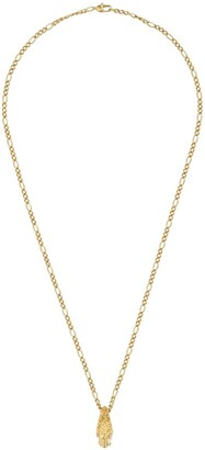 Gucci 18kt Yellow Gold Diamond Tiger Head Necklace