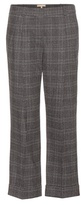 Michael Kors Cropped stretch wool trousers