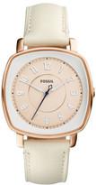 Fossil Idealist White Watch