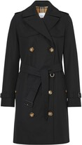Burberry Cotton Gabardine Trench Coat