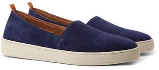Mulo Suede Slip-On Sneakers