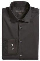 John Varvatos Slim Fit Solid Stretch Cotton Dress Shirt