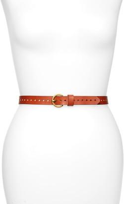 Treasure & Bond Perforated Leather Belt