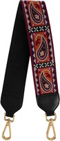 Etro Rainbow embroidered bag strap