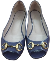 Gucci Patent leather ballet flats