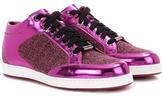 Jimmy Choo Miami metallic sneakers