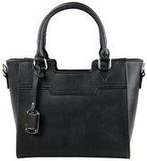 Condura NEW Miranda Black Leather Tote Bag