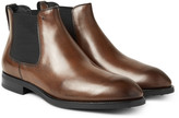Tod's - Burnished-leather Chelsea Boots