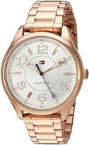 Tommy Hilfiger Women's Quartz Gold Casual Watch, Color:Beige (Model: 1781671)