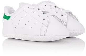 adidas Infants' Stan Smith Leather Crib Sneakers - White