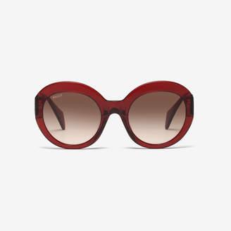 Bally Rodeo Round Frame Sunglasses