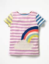 Boden Hotchpotch Appliqué T-shirt