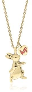 Rhona Sutton Beatrix Potter Sterling Silver Peter Rabbit Pendant Necklace with Charm