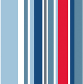 Graham & Brown Wallpaper Sample - Kids Long Island Blue