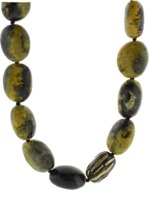 Yossi Harari Libra Yellow Jasper Necklace