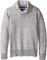 Tommy Hilfiger Robert Shawl Sweater (Toddler/Little Kids)