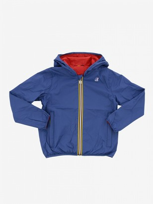 K-Way Jacques Reversible Jacket With Hood