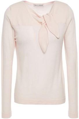Autumn Cashmere Knotted Cashmere Top