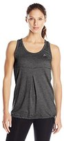 Head Women's Herringbone Blouson Tank Shirt