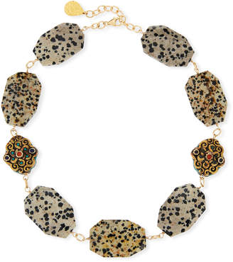 Devon Leigh Animal-Print Choker Necklace