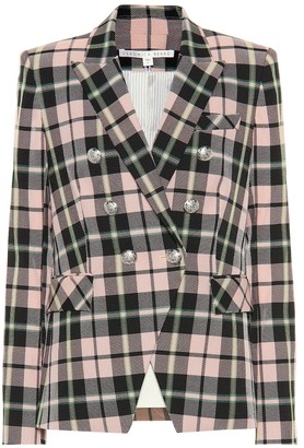 Veronica Beard Miller Dickey checked blazer