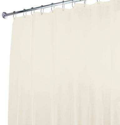 Bed Bath & Beyond 5-Gauge Shower Curtain Liner in Ivory