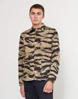 Edwin Blitz Union Jacket Camo Green