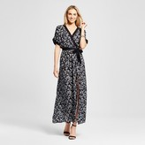 Merona Women's Wrap Floral Maxi Dress