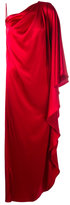 Gianluca Capannolo silky one-shoulder gown - women - Polyester/Triacetate - 42