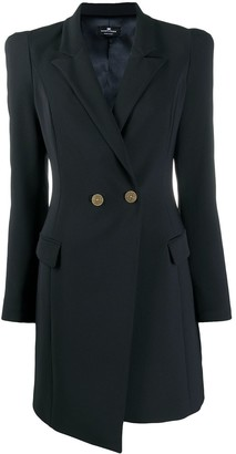 Elisabetta Franchi Double-Breasted Tuxedo Dress