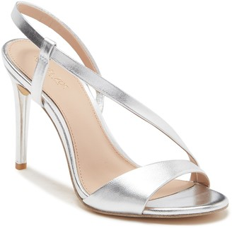 Rachel Zoe Nina Metallic Leather Stiletto Sandal