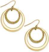 Charter Club Gypsy Double Hoop Earrings