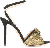 Charlotte Olympia heeled sandals - women - Leather/Suede - 39