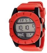 Everlast Sport Men's Digital Round Watch with Rubber Strap