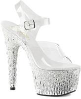 Pleaser USA Women's Adore 708MR-5 Ankle Strap Sandal