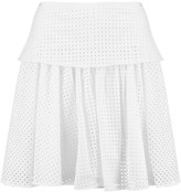 Rag & Bone Lakewood broderie anglaise cotton mini skirt