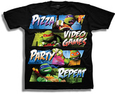 Freeze Black TMNT 'Party Repeat' Tee - Boys