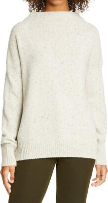 Vince Funnel Neck Wool Blend Sweater