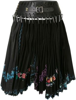 Chopova Lowena Pleated Bondage Skirt