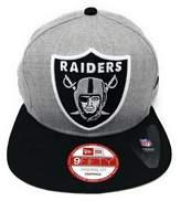 New Era Los Angeles Raiders Vintage XL Logo Grand 2 tone Snapback Hat