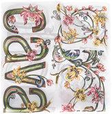 Roberto Cavalli floral print scarf - women - Silk - One Size