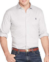 Polo Ralph Lauren Big and Tall Herringbone Knit Dress Shirt