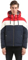 Moncler Gamme Bleu Hooded Nylon Down Jacket