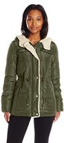 Levi's Women's Quilted Puffer Jacket with Hood