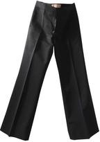 Marni Blue Cotton Trousers
